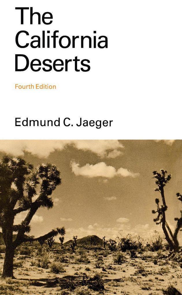 The California Deserts als Taschenbuch