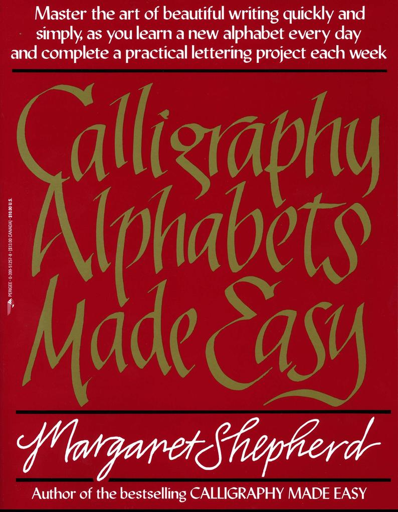 Calligraphy Alphabets Made Easy als Taschenbuch