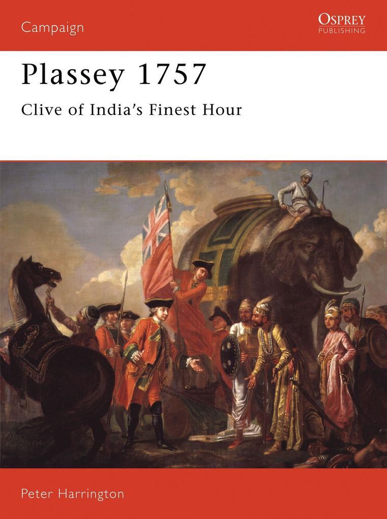 Plassey, 1757 als Taschenbuch