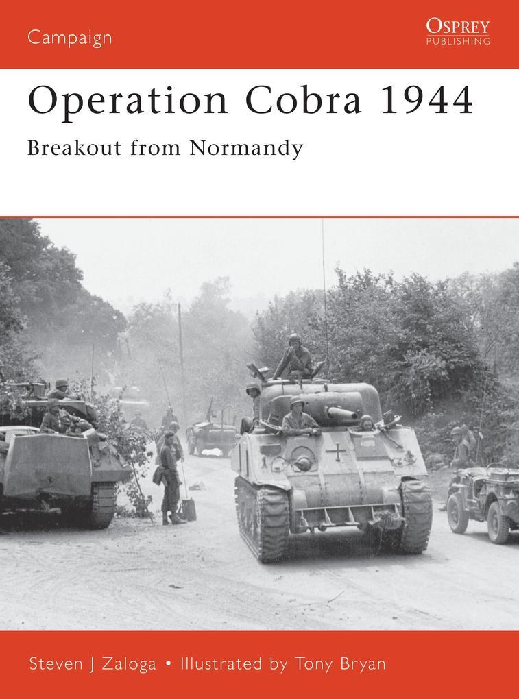 Operation Cobra 1944 als Taschenbuch