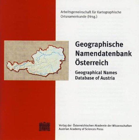 Geographische Namendatenbank Österreich /Geographical Database of Austria als Software