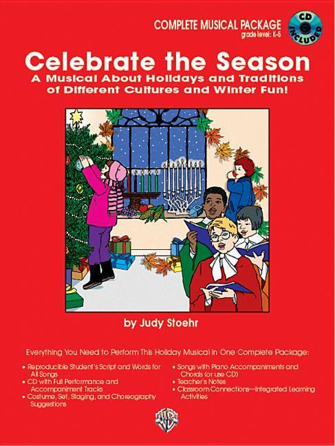 Celebrate the Season (a Musical about Holidays and Traditions of Different Cultures): Complete Package, Book & CD als Taschenbuch