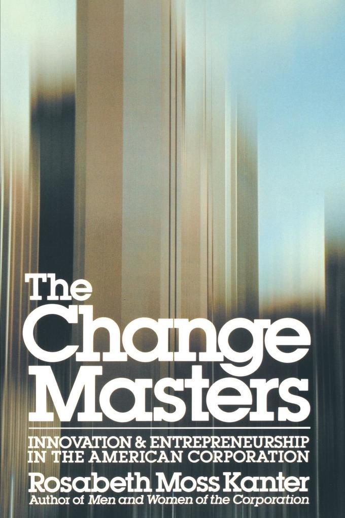 Change Masters als Taschenbuch