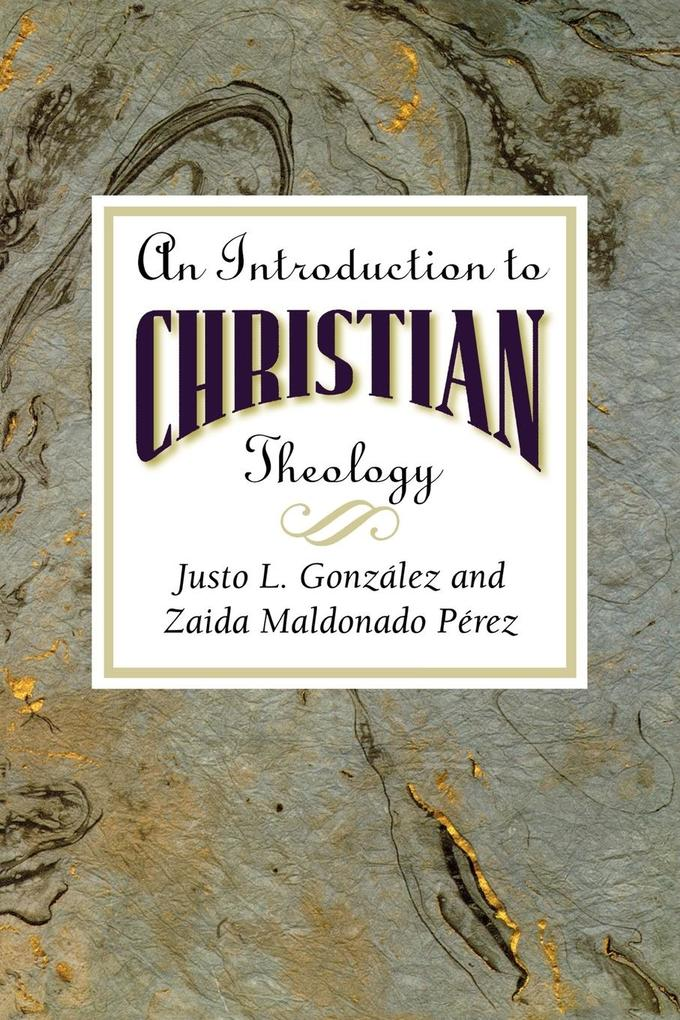 An Introduction to Christian Theology als Taschenbuch