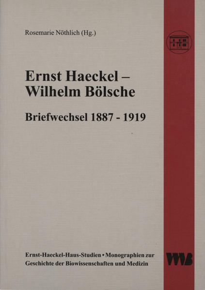 Ernst Haeckel - Wilhelm Bölsche als Buch von