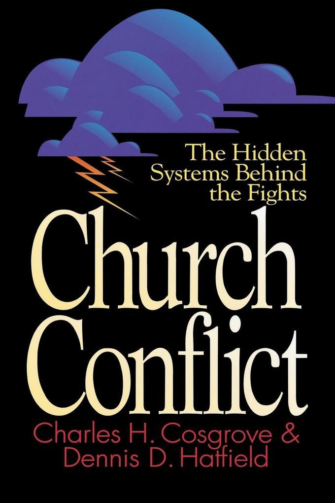 Church Conflict als Taschenbuch