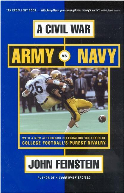 A Civil War: Army vs. Navy - A Year Inside College Football's Purest Rivalry als Taschenbuch