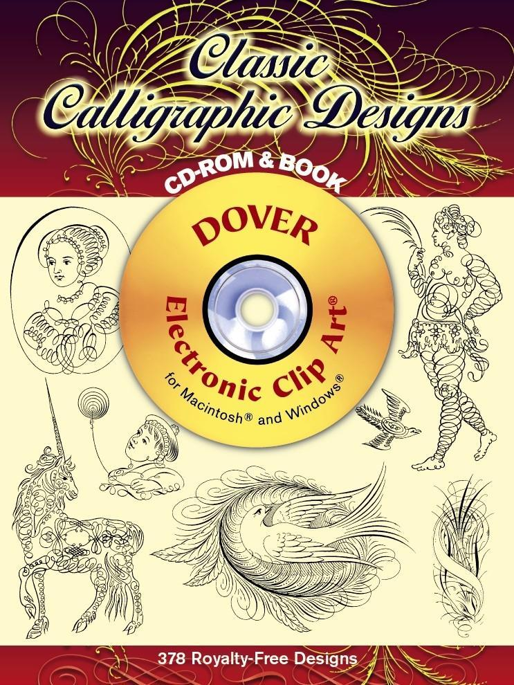 Classic Calligraphic Designs CD-ROM and Book [With CDROM] als Taschenbuch