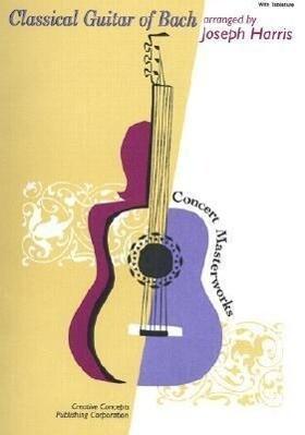 Classical Guitar of Bach als Taschenbuch
