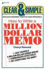 How to Write a Million Dollar Memo