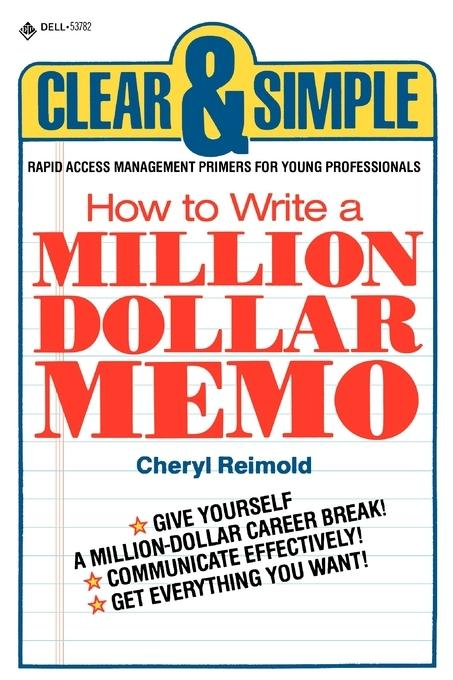 How to Write a Million Dollar Memo als Taschenbuch