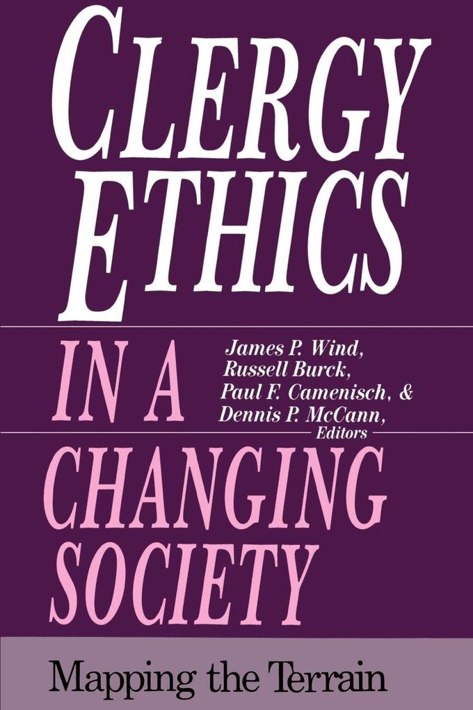 Clergy Ethics in a Changing Society als Taschenbuch