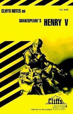 Cliffs Notes on Shakespeare's Henry V als Taschenbuch