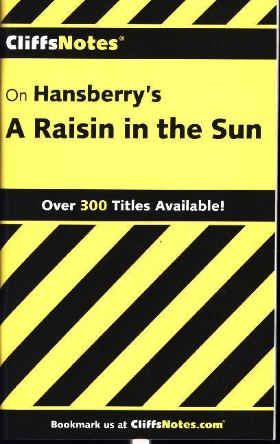 CliffsNotes on Hansberry's A Raisin in the Sun als Taschenbuch