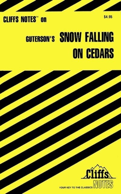 Cliffsnotes on Guterson's Snow Falling on Cedars als Buch