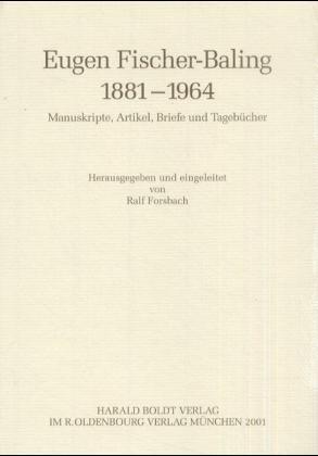 Eugen Fischer-Baling (1881 - 1964) als Buch (gebunden)