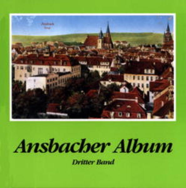 Ansbacher Album III als Buch
