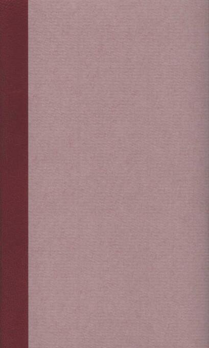 Werke in fünf Bänden als Taschenbuch