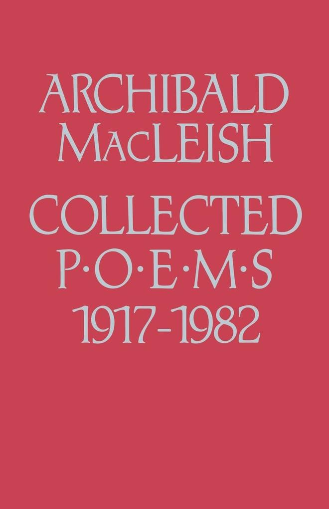 Collected Poems 1917 to 1982 als Taschenbuch