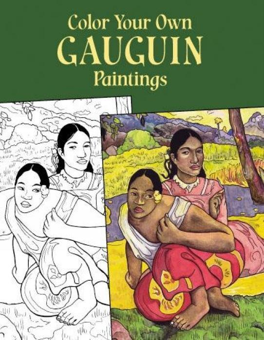 Color Your Own Gauguin Paintings als Taschenbuch