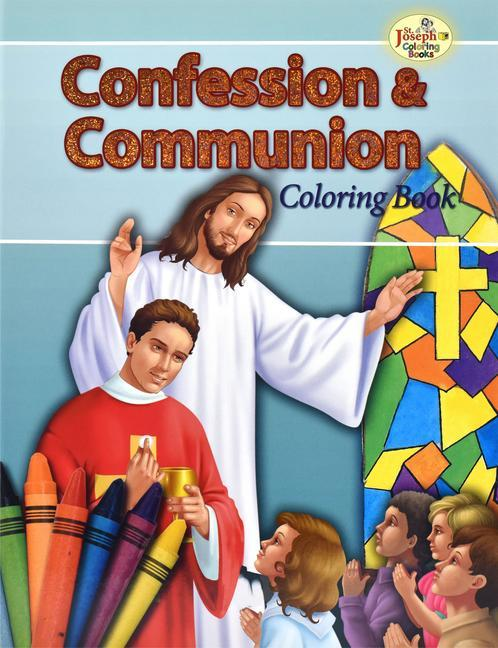 Confession and Communion Coloring Book als Taschenbuch