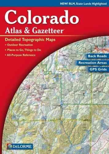 Delorme Colorado Atlas & Gazetteer als Taschenbuch