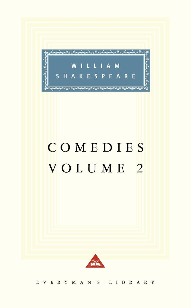 Comedies, Vol. 2: Volume 2 als Buch