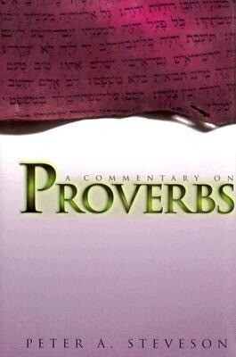 A Commentary on Proverbs als Buch