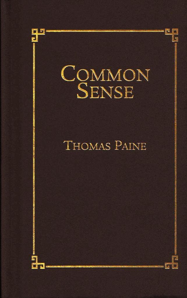 Common Sense als Buch