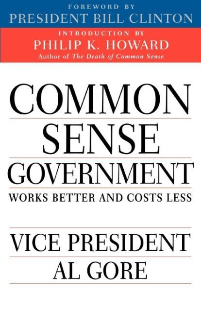 Common Sense Government: Works Better and Costs Less als Taschenbuch