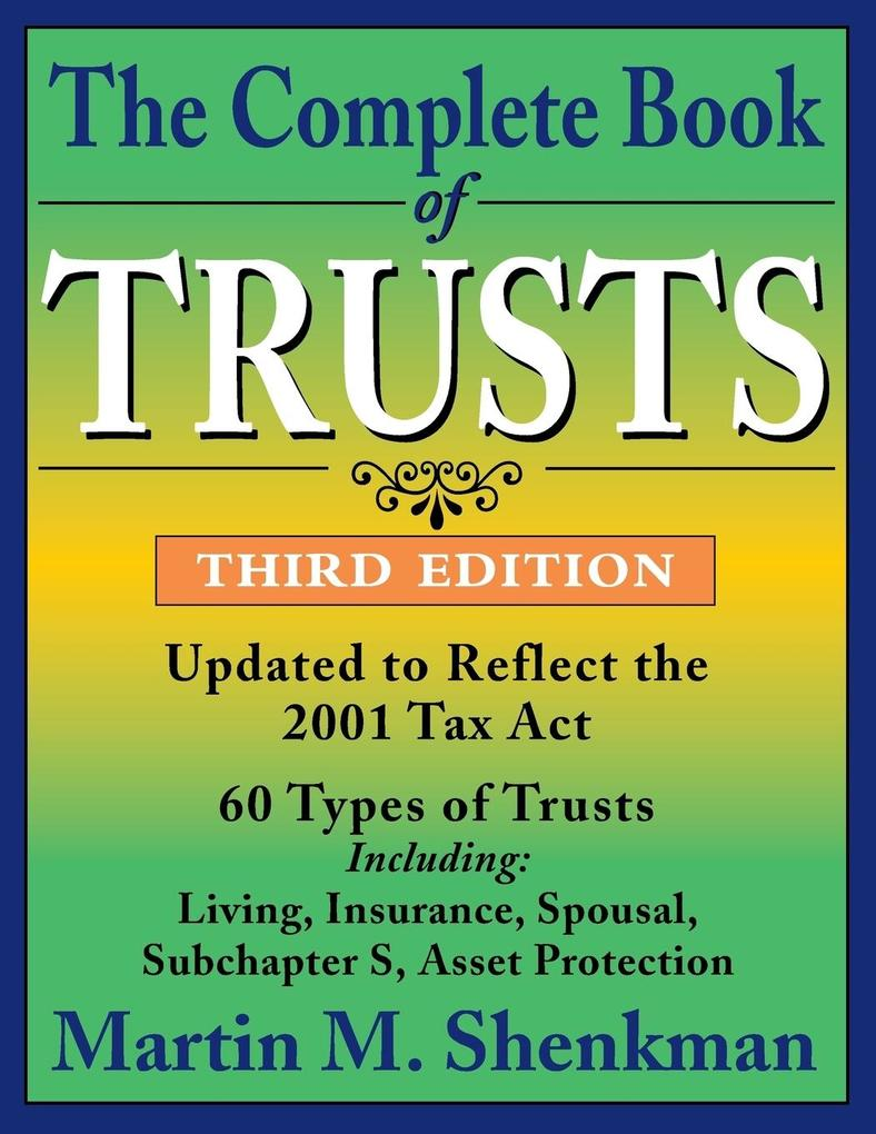 The Complete Book of Trusts als Taschenbuch