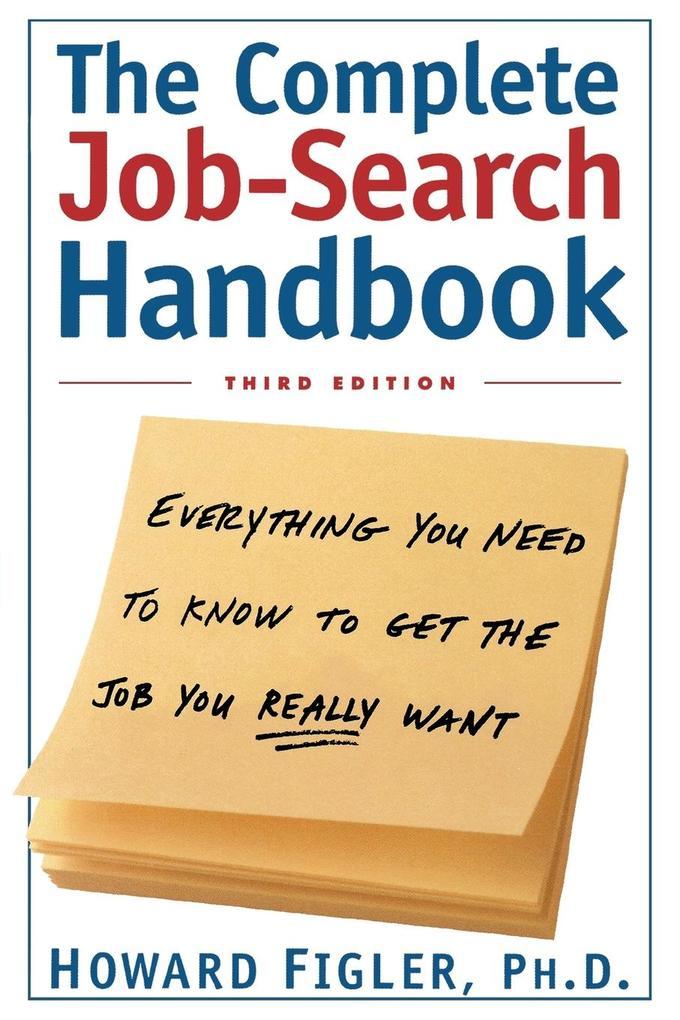 The Complete Job-Search Handbook als Taschenbuch