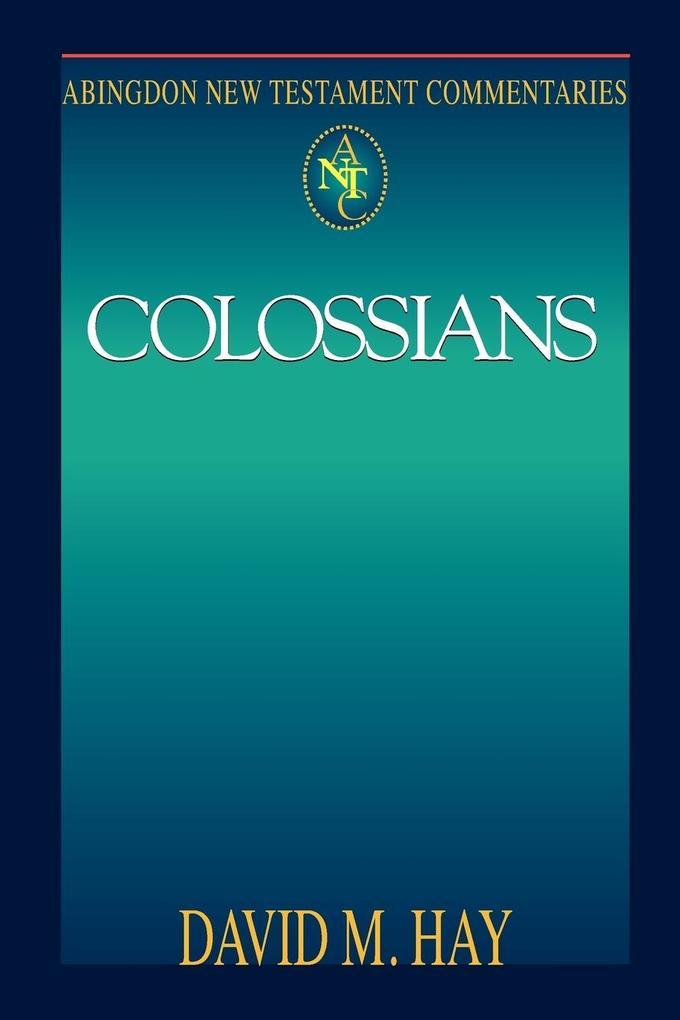 Abingdon New Testament Commentary - Colossians als Taschenbuch