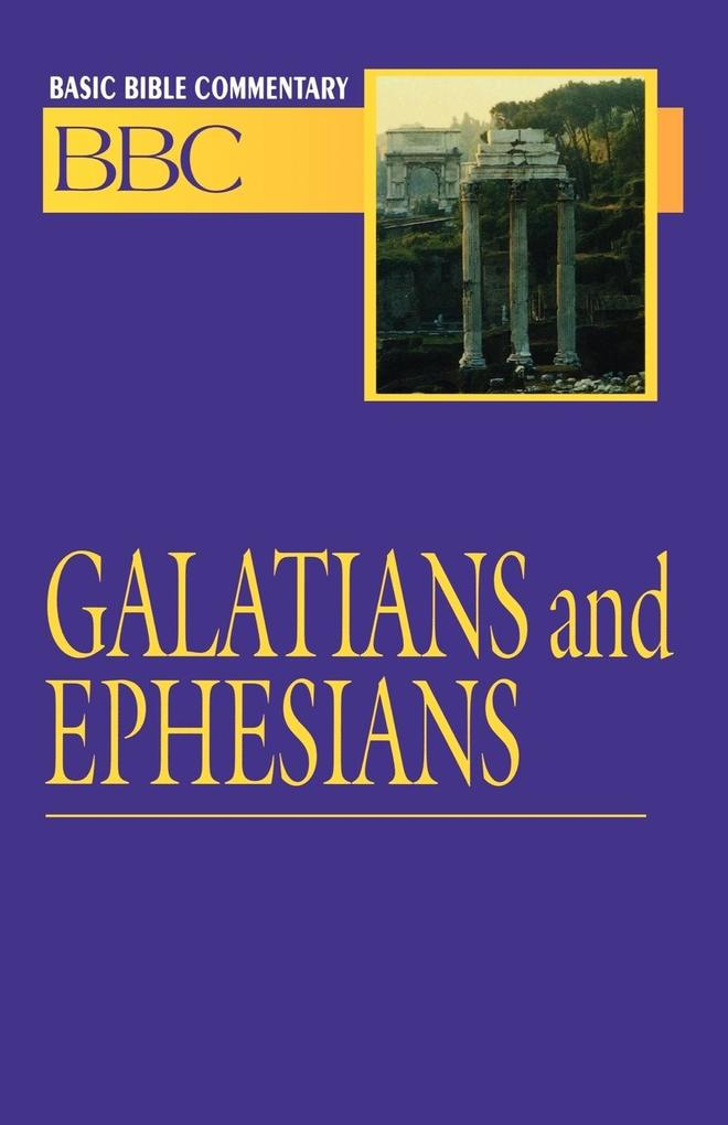 Basic Bible Commentary Volume 24 Galatians and Ephesians als Taschenbuch
