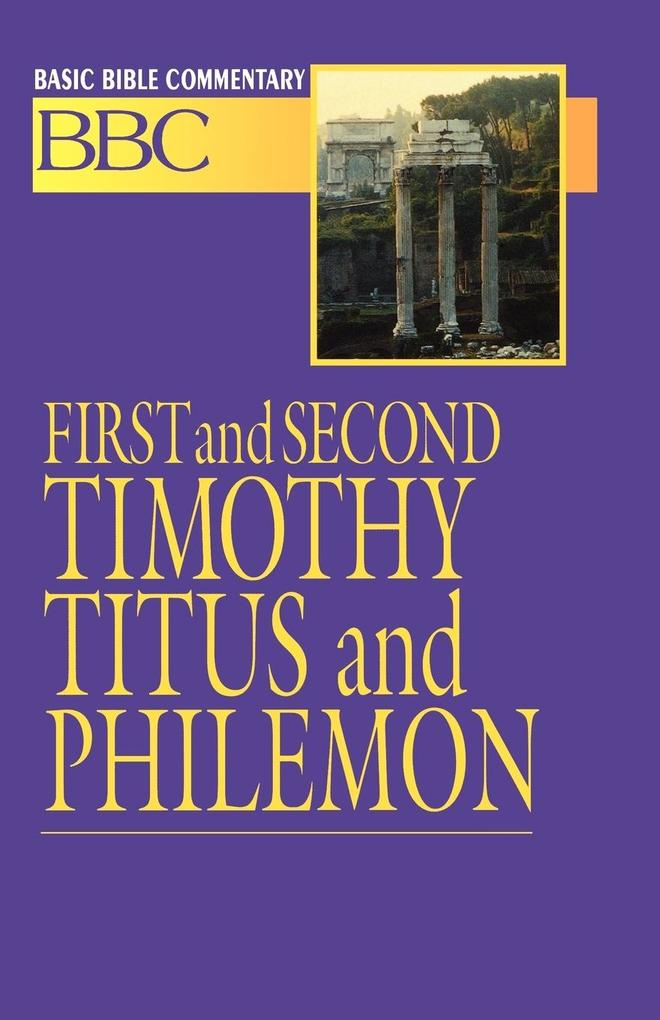 First and Second Timothy, Titus and Philemon als Taschenbuch
