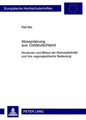 Abwanderung aus Ostdeutschland als Buch (gebunden)