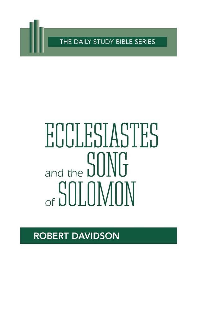 Ecclesiastes & Song of Solomon (DSB-OT) als Taschenbuch