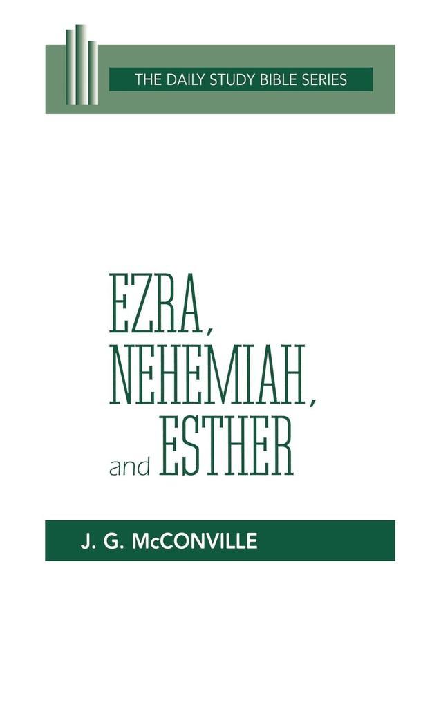 Ezra, Nehemiah, and Esther (DSB-OT) als Taschenbuch