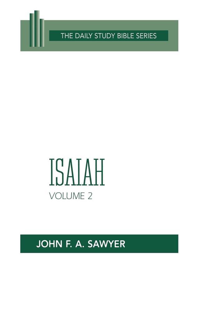 Isaiah, Vol. 2 (Dsb-OT) als Buch
