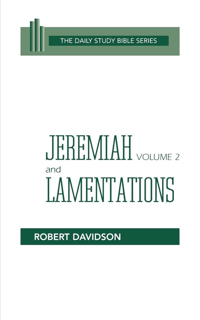 Jeremiah Volume 2 and Lamentations: Chapters 21-52 als Taschenbuch