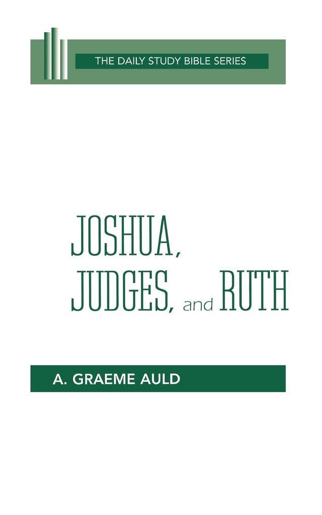 Joshua, Judges, and Ruth (Dsb) als Taschenbuch