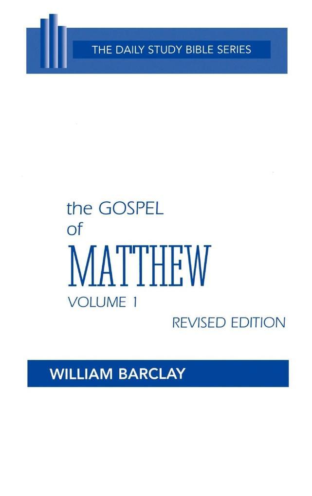 The Gospel of Matthew als Buch