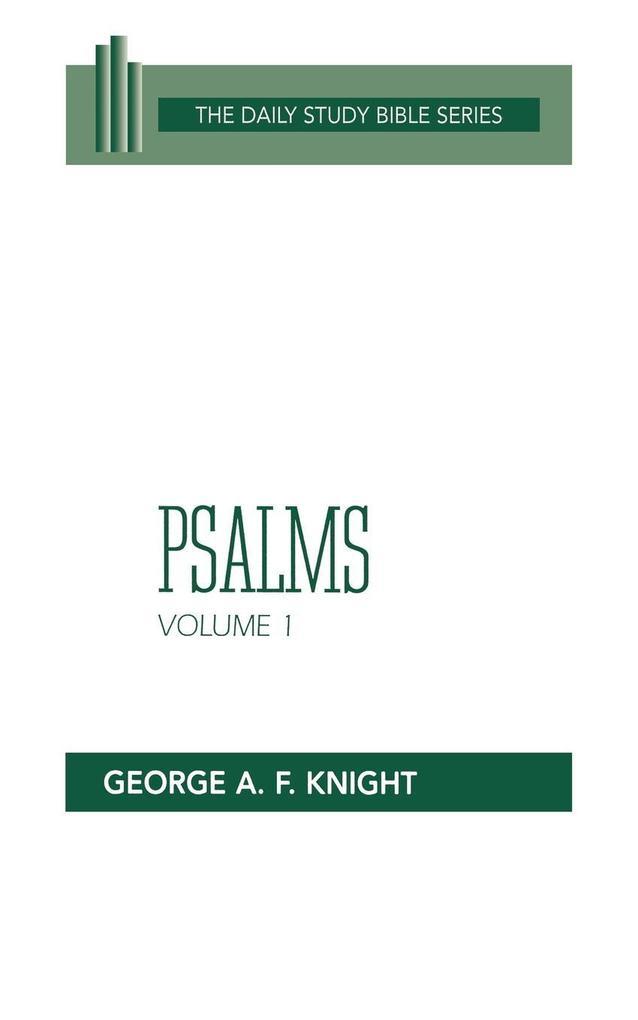 Psalms, Vol. 1 (DSB-OT) als Taschenbuch