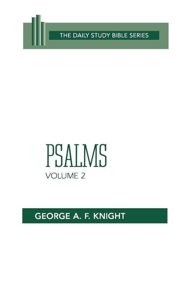 Psalms, Vol. 2 (Dsb-Ot) als Taschenbuch