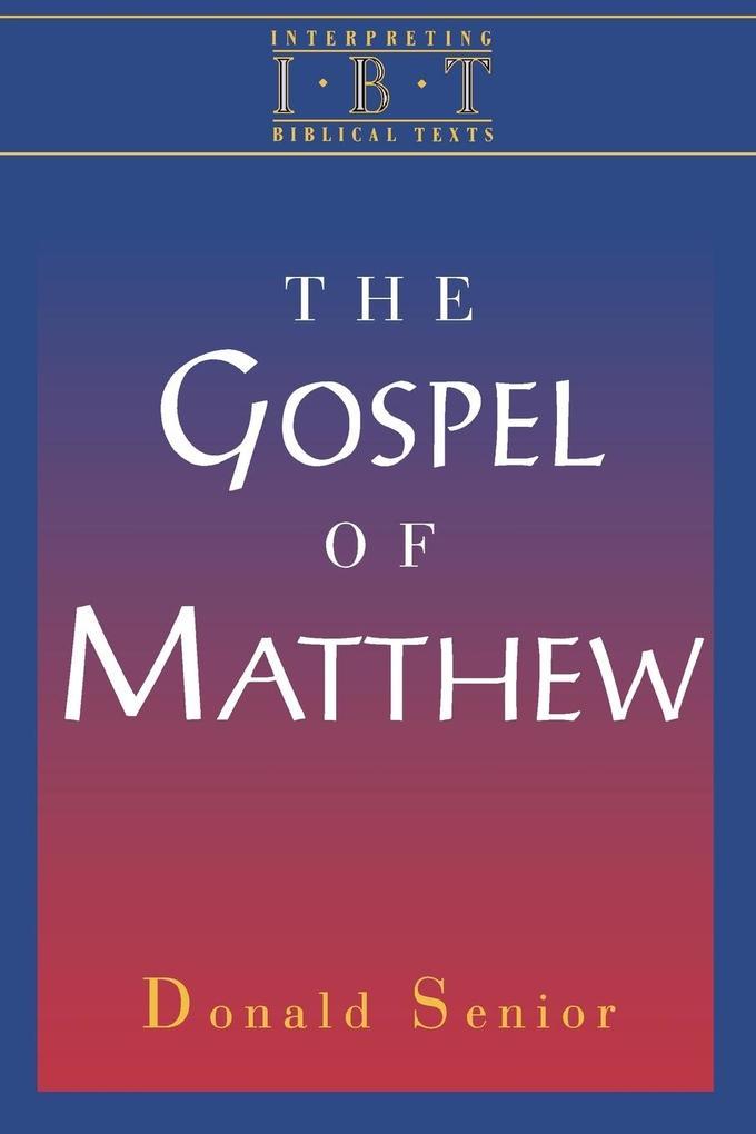 The Gospel of Matthew als Taschenbuch