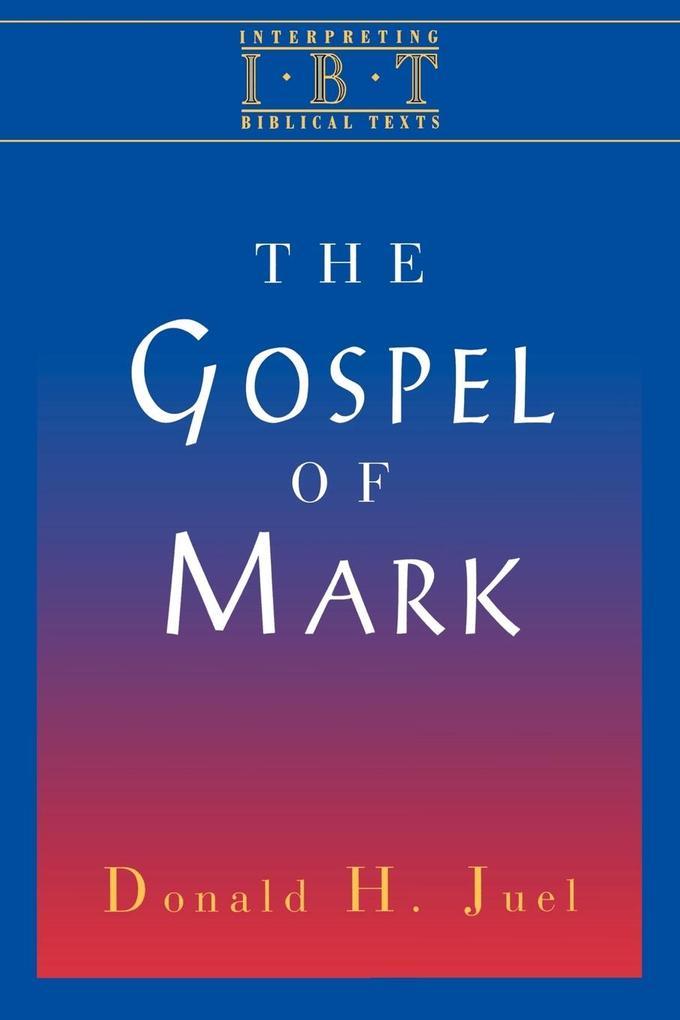 The Gospel of Mark als Taschenbuch