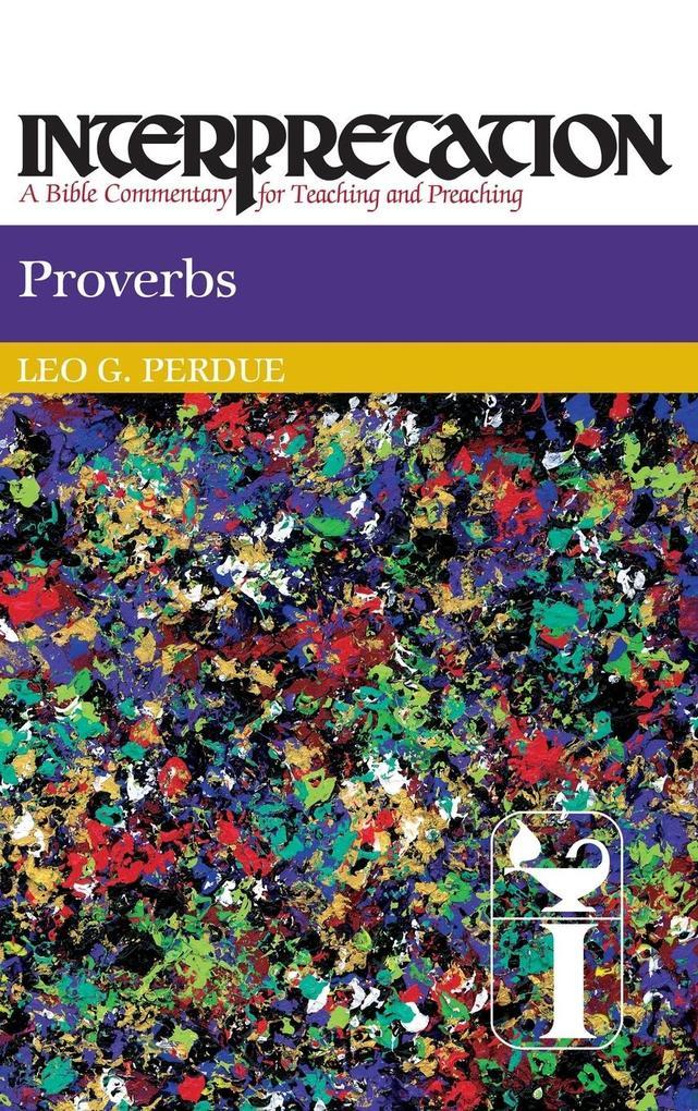 Proverbs als Buch