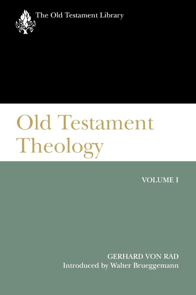 Old Testament Theology Vol I (Otl) als Taschenbuch