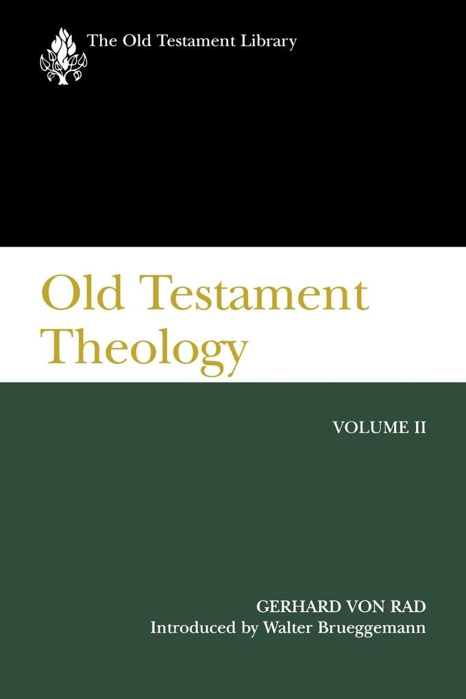 Old Testament Theology Volume 2 als Taschenbuch