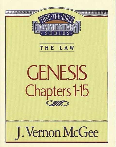 Thru the Bible Vol. 01. the Law (Genesis I-15) als Taschenbuch